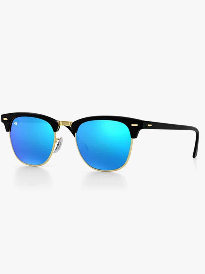 clubmaster pillenbrillen zonnebril