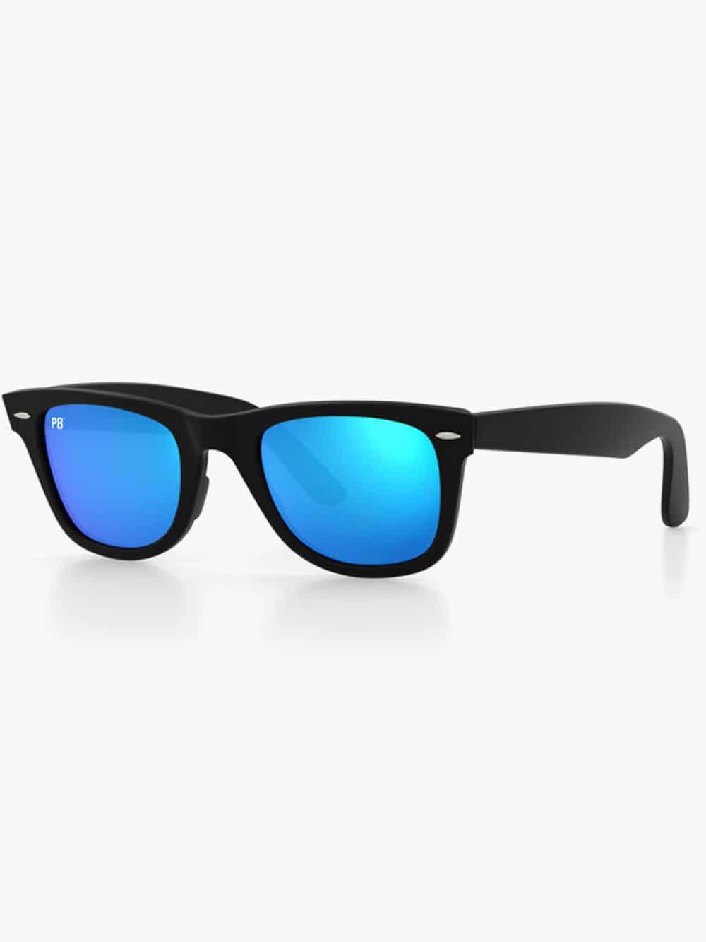 wayfarer-matte-blue-flash-side