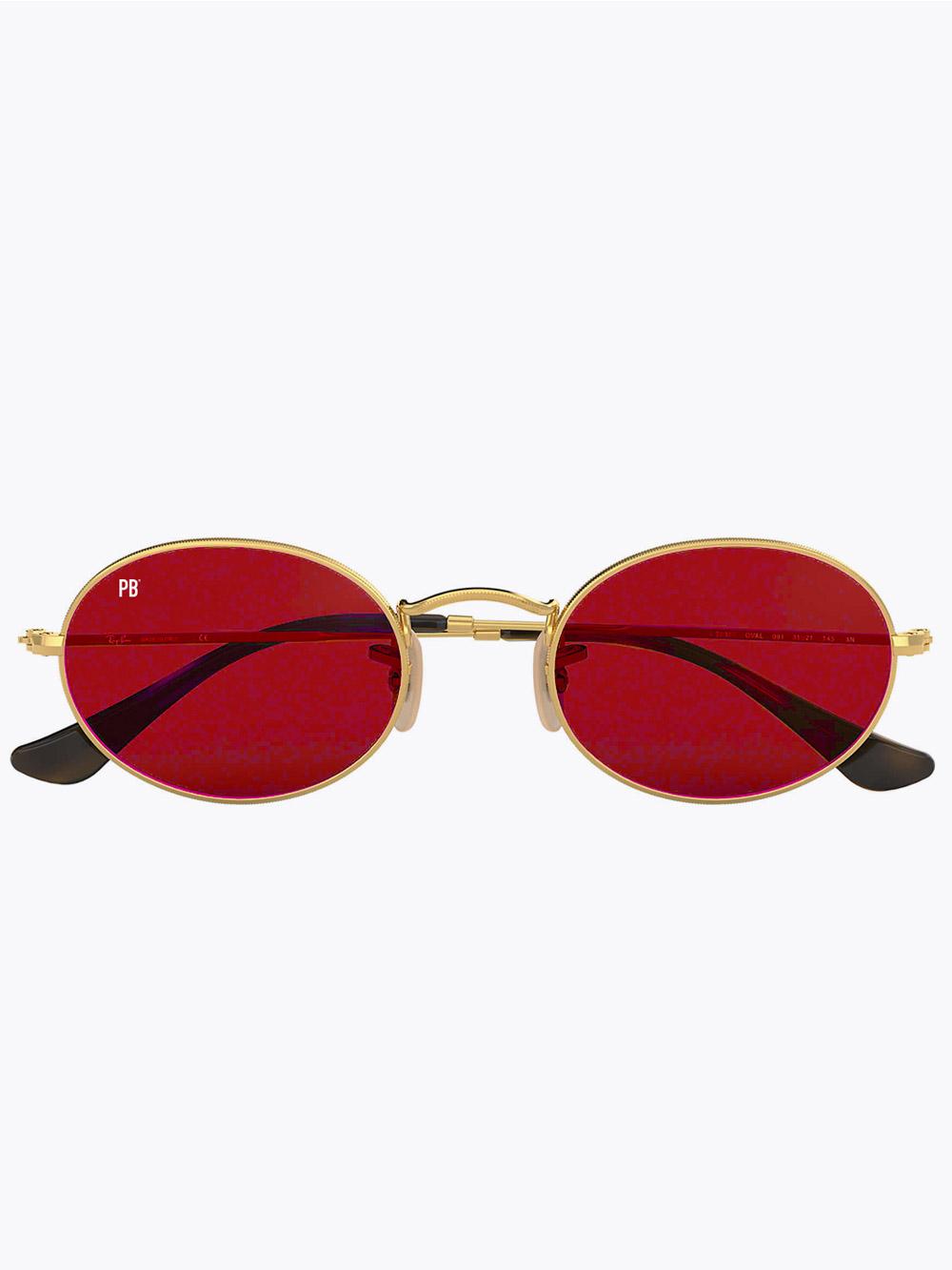 ovale-zonnebril-vintage-rood-2