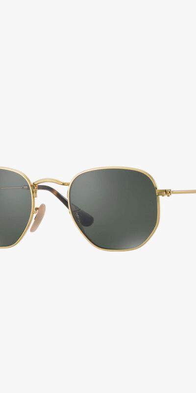 Zeshoek zonnebril gepolariseerd