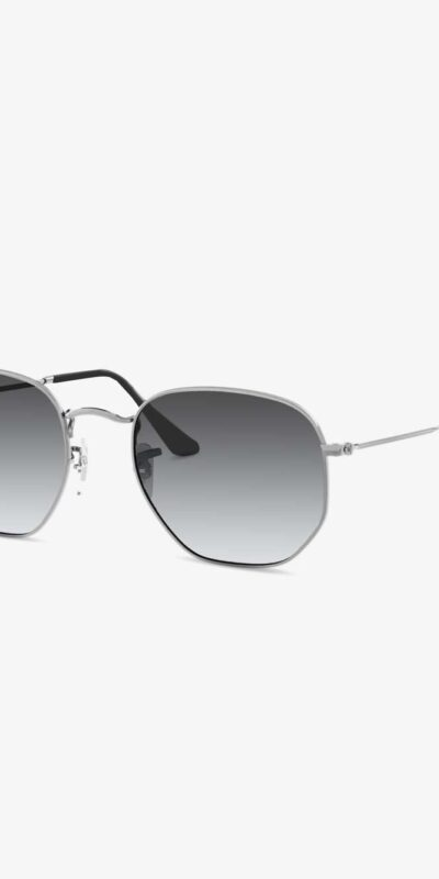 Hex Silver Gradient Grey