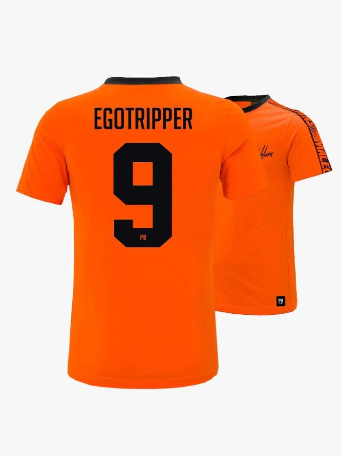 Malelions PB Egotripper Oranje Shirt